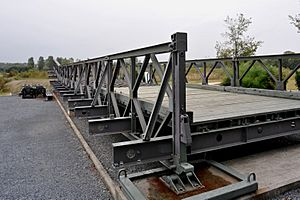 Bailey bridge element, Ranville 01 09
