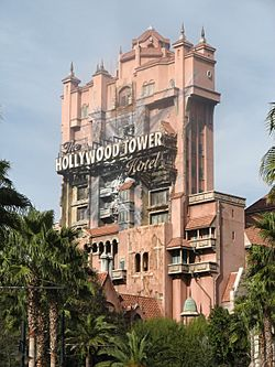 Disney's-Hollywood-Studios - The Twilight Zone Tower of Terror - 20080115