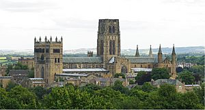 Durham Cathedral from the south-2