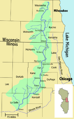 Fox River Map