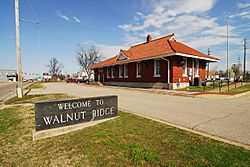 Walnut Ridge historic rail depot and now Amtrak Station