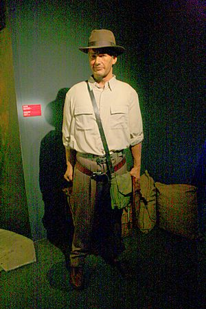 Musee Grevin Indiana Jones