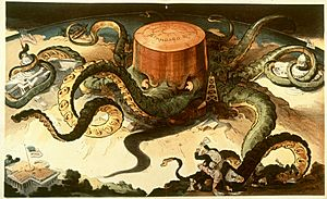 Standard oil octopus loc color