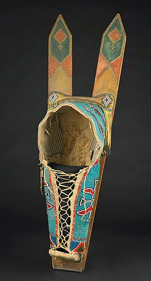 Cradleboard of the Kiowa or Comanche people