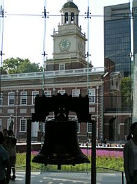 Liberty Bell, Independence Hall