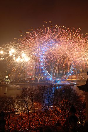 London Eye NYE