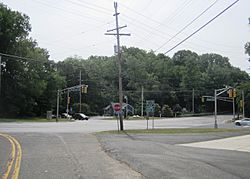 Intersection of Route 34 and CR 520