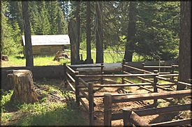 Willow Prairie Horse Camp, Rogue River NF, Oregon