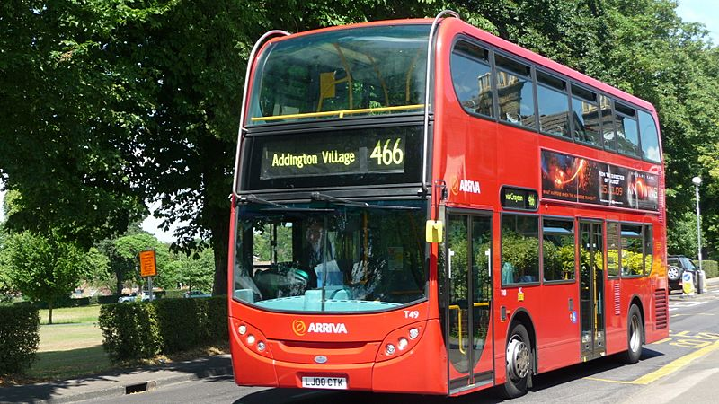 Arriva London South T49 LJ08 CTK 2