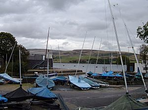 Boatyard, Hollingworth Lake - geograph.org.uk - 561902