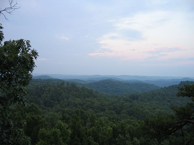 Daniel Boone National Forest Tater Knob