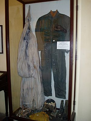 John McCain's Flight Suit and gear on display at the Hanoi Hilton - December 2006