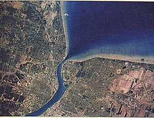 Sarnia From Space