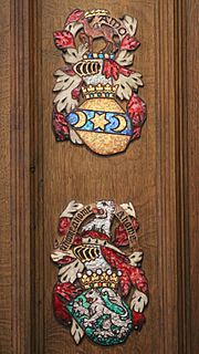 Thistle Chapel Stall Plates