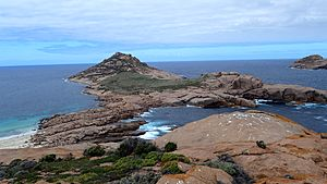 View of Southern Pearson Island, Investigator Group Conservation Park, South Australia