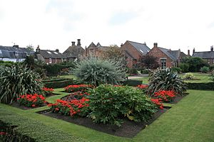 Woodhouse Gardens, Blandford Forum - geograph.org.uk - 1500199