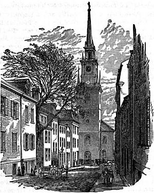 Old North Church Boston 1882