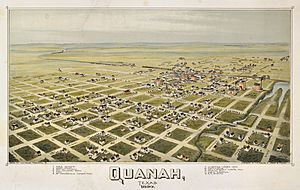 Old map-Quanah-1890