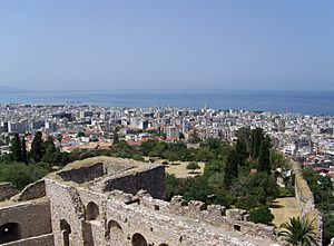 Patras from the fortress