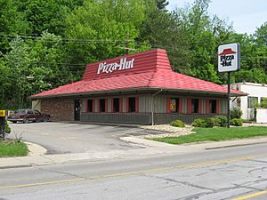Pizza Hut Athens OH USA