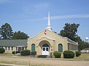 Revised photo, Cotton Valley, LA, United Methodist Ch. IMG 5129