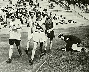 1912 Athletics men's 10 kilometre walk