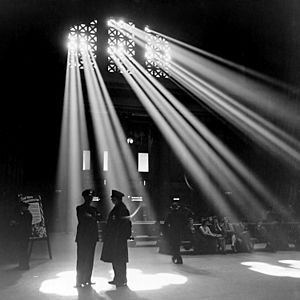 Chicago Union Station 1943