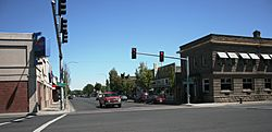 Historic business district of Hermiston