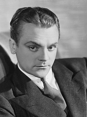 Publicity headshot of James Cagney