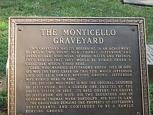 Monticello Graveyard historical marker IMG 4203