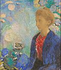 Odilon Redon (French - Baronne de Domecy - Google Art Project