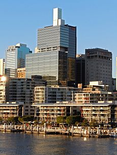 Westpac Place from the Pyrmont Bridge