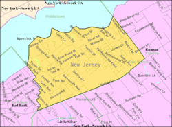 Census Bureau map of Fair Haven, New Jersey