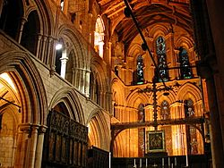 Inside Hexham Abbey Hexham United Kingdom