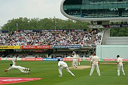Lords test match