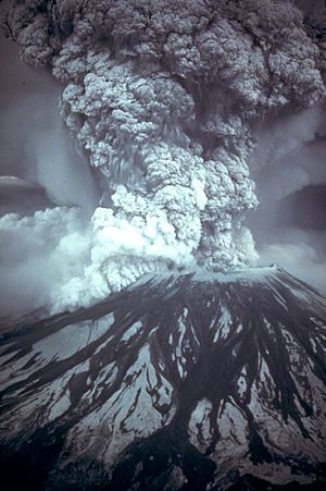 MSH80 eruption mount st helens 05-18-80
