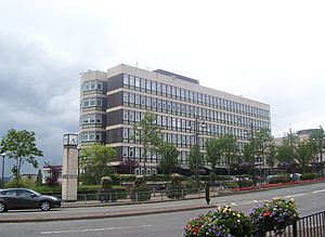 Motherwell Civic Centre - geograph.org.uk - 3045184