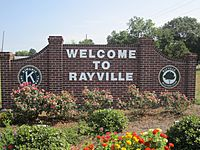 Rayville, LA, welcome sign IMG 0148