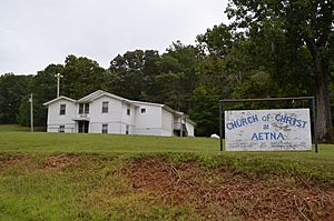Aetna Church of Christ - Aetna Hickman County Tennessee 8-31-2014
