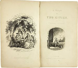 Charles Dickens- A Tale of Two Cities-With Illustrations by H K Browne, 1859