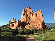 Garden of the Gods Aug 2013