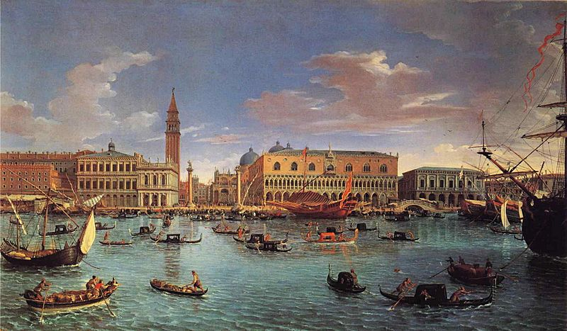Gaspar van Wittel - View of the San Marco Basin