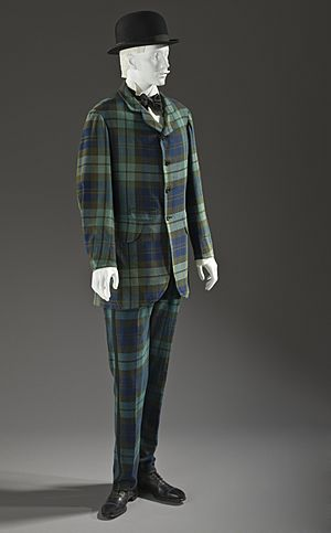 Man's two-piece lounge suit 1875-1880