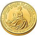 Martha Washington First Spouse Coin reverse