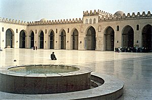 Mosquee al-akim le caire 1