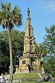 Savannah GA USA Forsyth Park Confederate Memorial