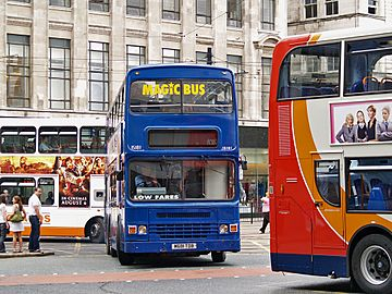 Stagecoach Magic Bus (Manchester) bus 15181 (M681 TDB), 25 July 2008