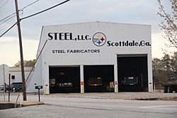 Steel LLC fabrication facility in Scottdale