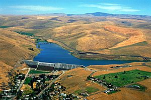 USACE Willow Creek Dam Oregon