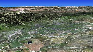 Colorado Springs 3D Map